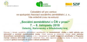 Exkurze na české sociální farmy